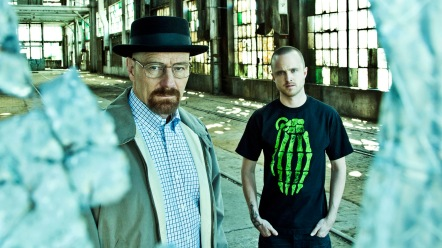 BREAKING BAD's original Walter and Jesse