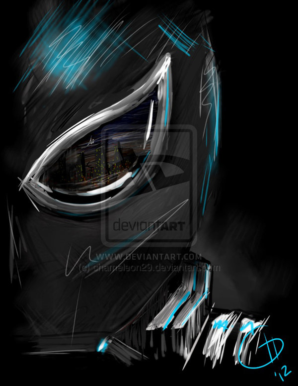 Agent Venom print by chameleon29