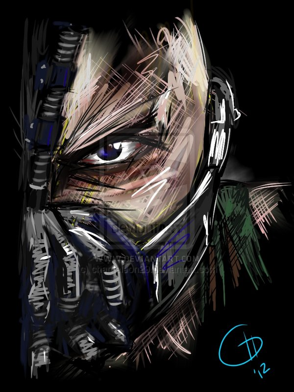 Bane print by chameleon29-d5noroh