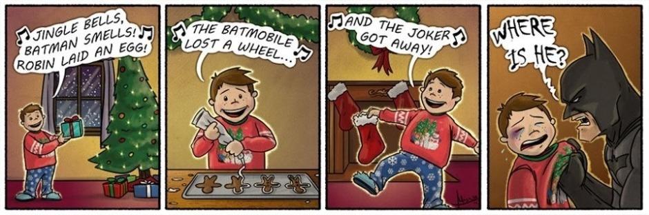 A very Batman Christmas