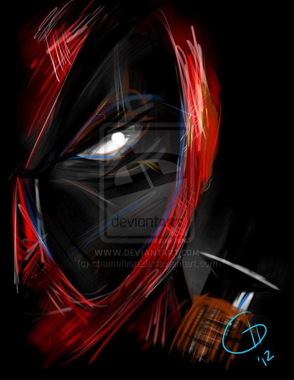 Deadpool print by chameleon29