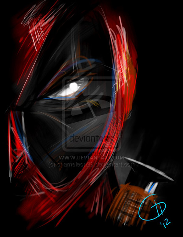 Deadpool print by chameleon29