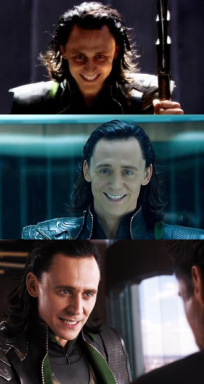 Loki Smiles