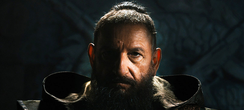 Ben Kingsley as IRON MAN 3's Mandarin