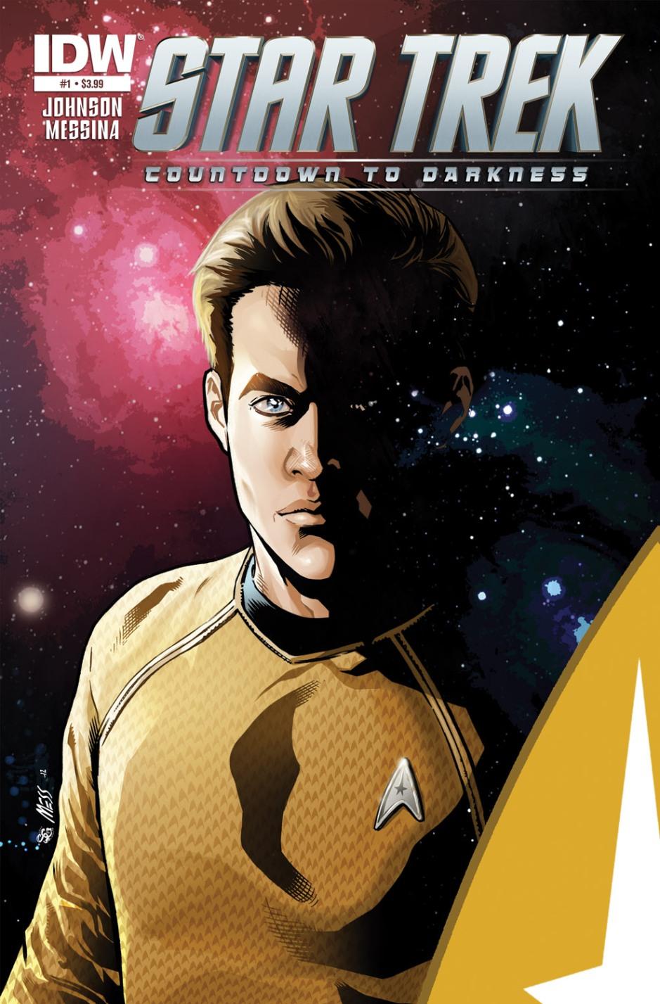 """""""Star Trek Countdown to Darkness"""" Issue #1"""