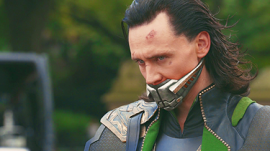 Only one way to keep Loki from grinning at you.