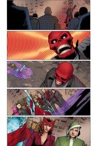 Uncanny Avengers Panels