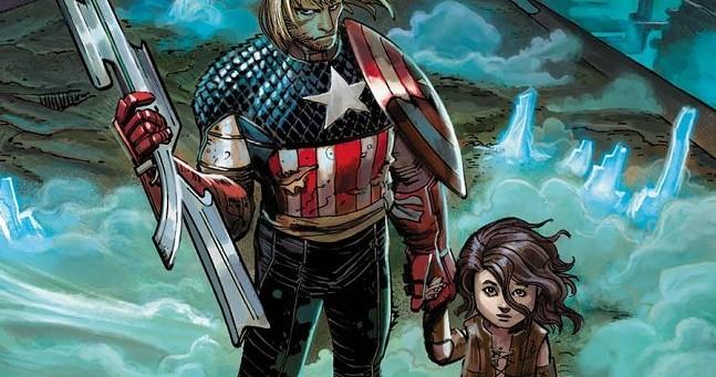 Captain America & Child