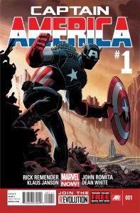 Issue #1 of CAPTAIN AMERICA