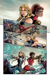 Fearless Defenders 1 Page