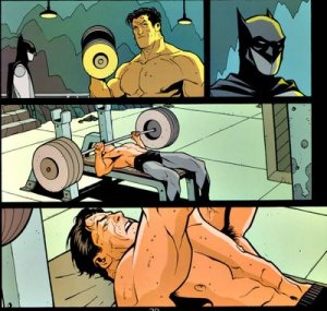 Batman Work-Out 1