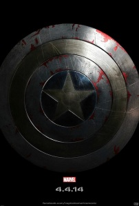 The first CAPTAIN AMERICA: WINTER SOLDIER Teaser... which also hangs in my office! Splush!