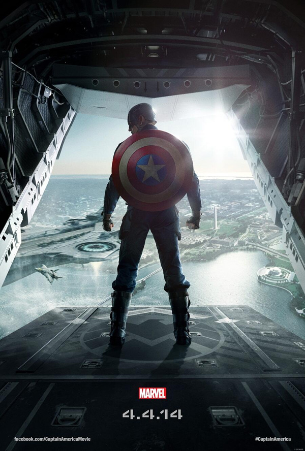 The second teaser poster for CAPTAIN AMERICA: WINTER SOLDIER.