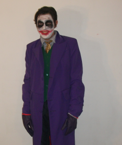 Me as the Joker, Halloween 2012