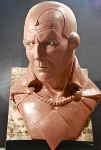 One AVENGERS fan has made a bust of what Coulson as the Vision may look like.