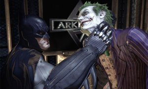 Batman and Joker - Arkham Asylum