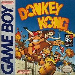Donkey Kong Gameboy Cover Art