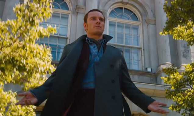 My favorite of the X-Men actors, Michael Fassbender as Magneto.