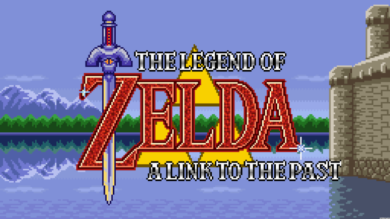 Legend of Zelda: A Link to the Past Title Screen