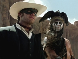 Lone Ranger and Tonto and Mountain