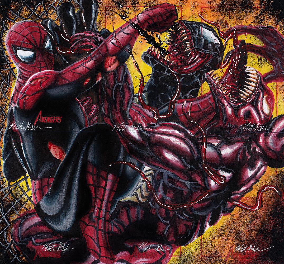 spider-man, venom and carnagetwynsunz-d4snsix – breaking