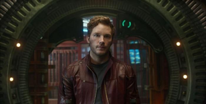 Chris Pratt as Star Lord.