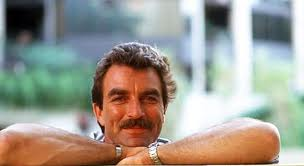Tom Selleck Moustache and All