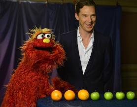 Benedict Cumberbatch Sesame St