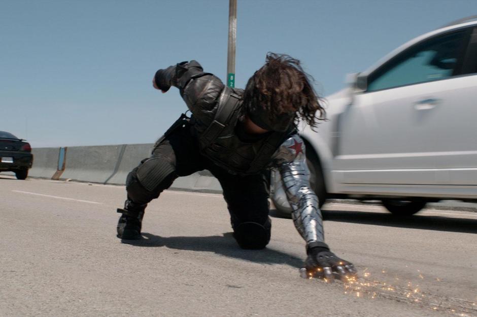 The Winter Soldier is Badass