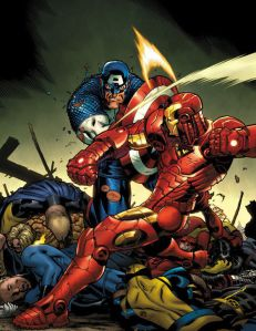 Civil War: Iron Man V. Captain America