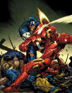 Civil War: Iron Man V. Captain America