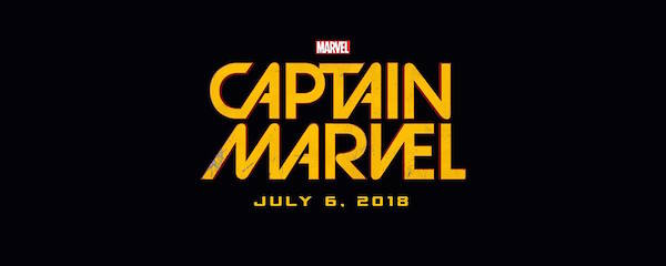 'Captain Marvel' Logo