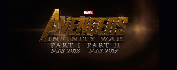 Avengers: Infinity War - Part I' logo