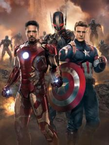 Entertainment Weekly's 'Age of Ultron' cover with Steve Rogers and Tony Stark representing the Avengers.