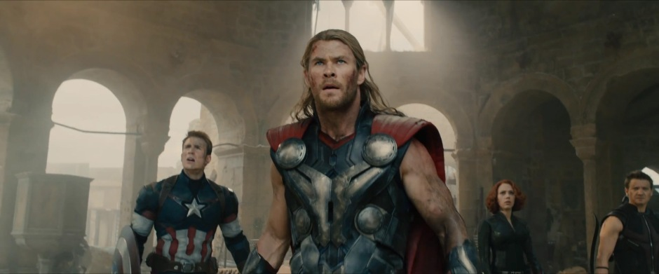 The Avengers wait for a drone siege?