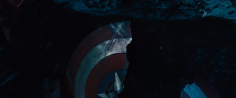 Captain America's Broken Shield