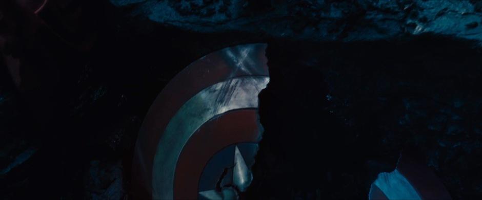 Captain America's Broken Shield