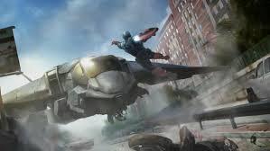 Captain America Escapes