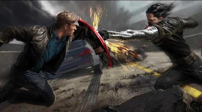 Winter Soldier concept art