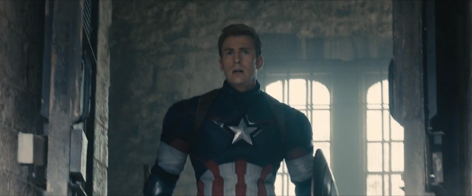 Captain America standing  in Baron Strucker's Castle? We Shall See.