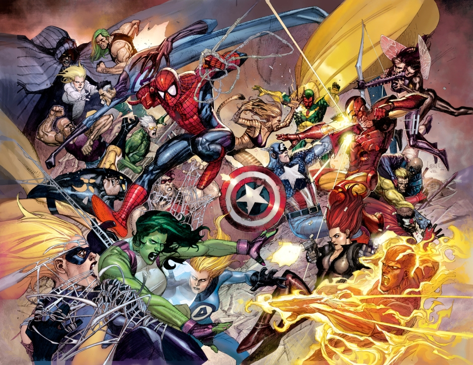 Civil War In The Comics