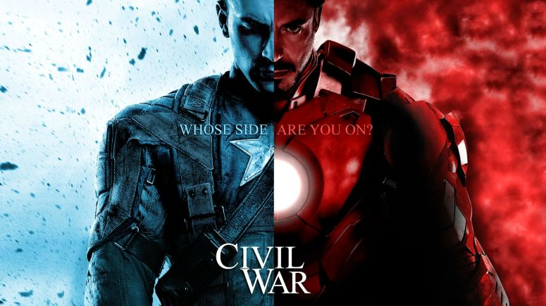 Cool Fan-Made Poster for 'Civil War.' Gets the point across.