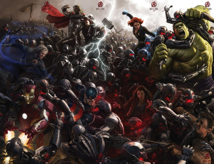 The Avengers may have their differences again in this film - Stark pisses off Thor, the Hulk fights Stark (maybe...), and the Twins hate the Avengers -but Earth's Mightiest Heroes must join together to defeat the world's biggest threat.