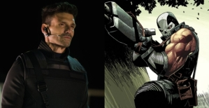 Steve Rogers' former right hand man and Hydra Agent, Brock Rumlow, in 'Winter Soldier' pre-Crossbones