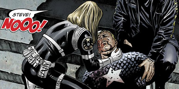 Death of Captain America Comic