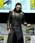 Tom Hiddleson as Loki at Comic Con