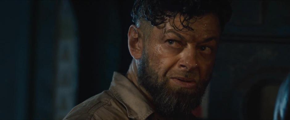 Is Andy Serkis playing Ulysses Klaw?