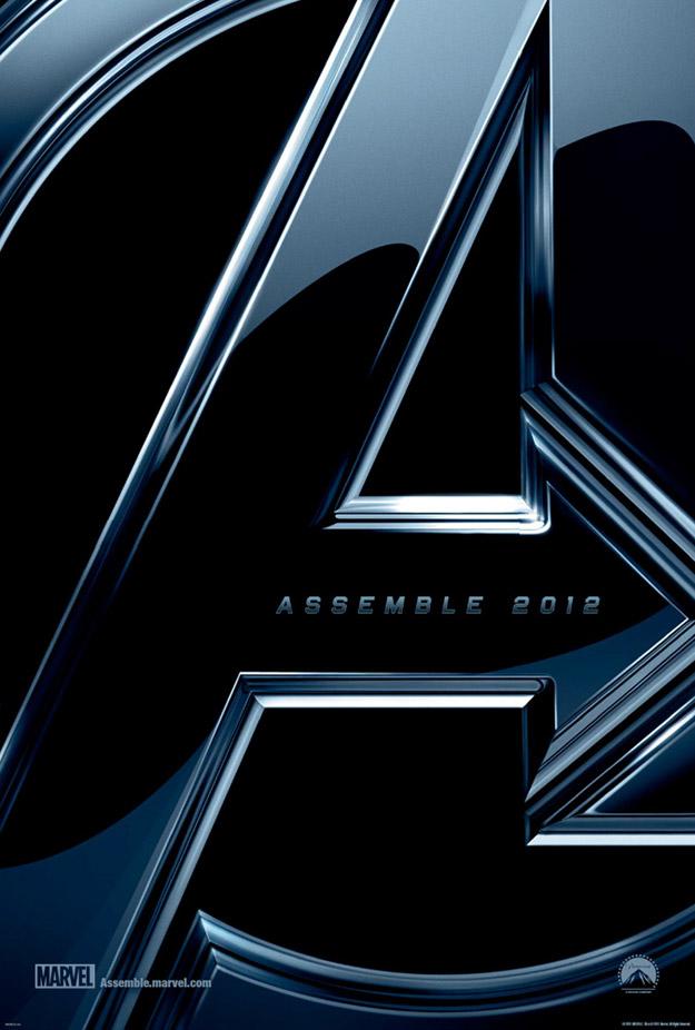 OG Avengers Poster for 1st Film