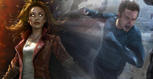 Scarlet Witch and Quicksilver concept art from 'Avengers: Age of Ultron.' What role will they play in a post-Ultron world? 'Capt. 3,' perhaps?