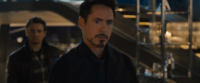 Stark Reacts to Ultron
